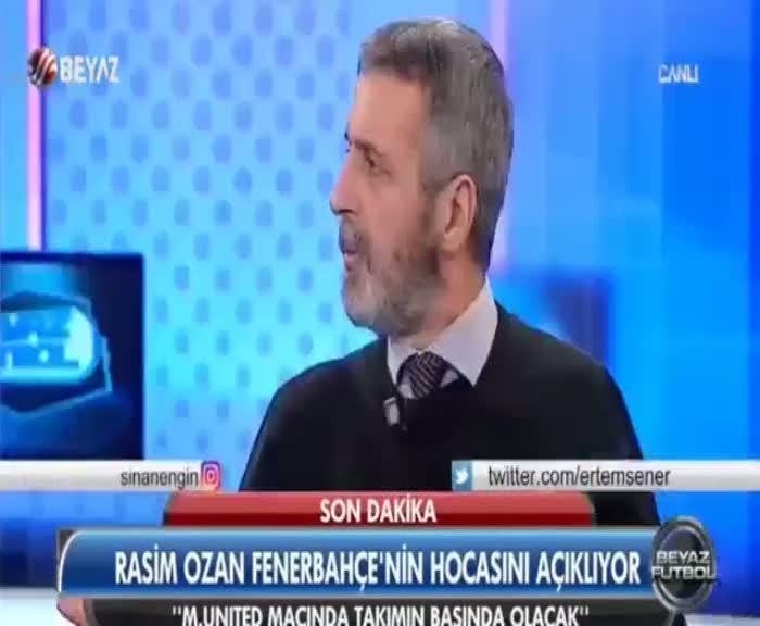 Fenerbahçe'nin yeni hocasını böyle açıkladı!