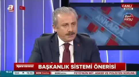 Mustafa Şentop: Üniter yapı vazgeçilmezdir
