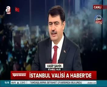 İstanbul Valisi Vasip Şahin AHaber'e konuk oldu