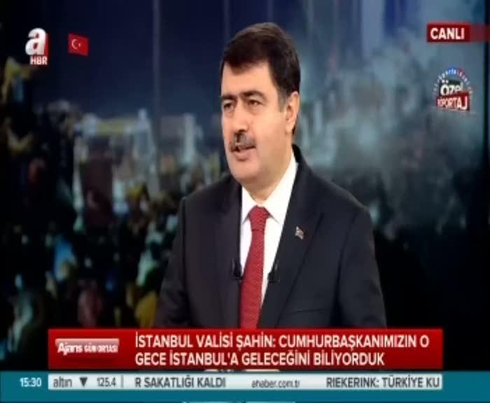 İstanbul Valisi'nin unutamadığı olay