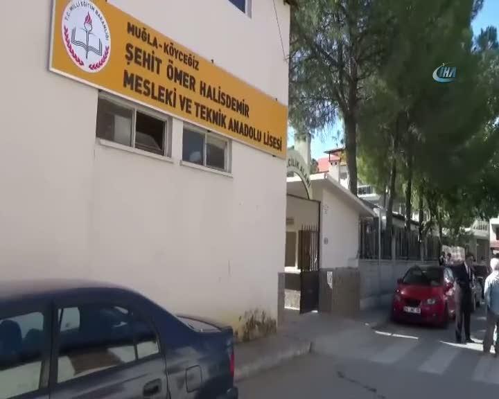 Şehit Astsubay Halisdemir'in ismi Köyceğiz'de okula verildi