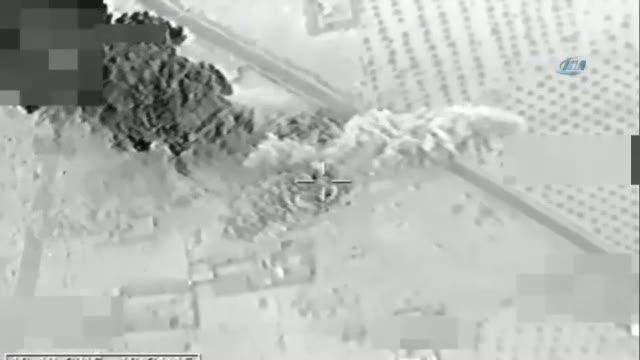 Türk jetleri PYD'yi böyle vurdu
