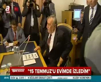 """Mehmet Ağar """"15 Temmuz'u evimde izledim"""""""