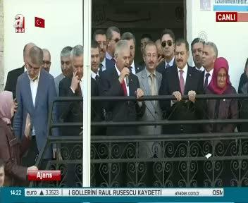 Başbakan Binali Yıldırım Afyonkarahisar'da konuştu