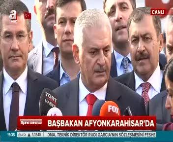 """Başbakan Yıldırım """"Suriye'de faaliyetlerimiz terör örgütlerini yok etmeye yöneliktir"""""""