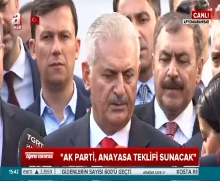 """Başbakan Yıldırım """"Bizim istediğimiz bu sorunu vatandaş çözsün"""""""