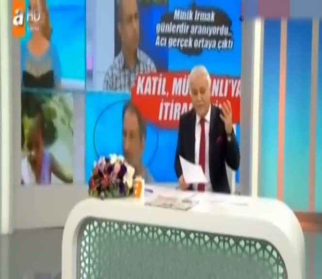 Nihat Hatipoğlu'ndan Irmak'ın katili Himmet Aktürk'e tepki!