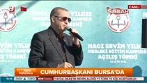"""Cumhurbaşkanı Erdoğan """"Türkiye tüm sabotajlara rağmen 2023 hedeflerine yürüyor"""""""