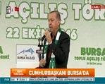 Cumhurbaşkanı Erdoğan Bursa'nın ünlü türküsüyle seslendi