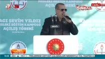 """Cumhurbaşkanı Erdoğan """"14 yılda Bursa'yı güzelleştirmek, geliştirmek için çok çalıştık"""""""