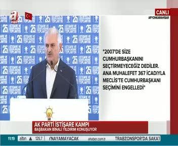 """Başbakan Yıldırım """"Türkiye'nin yeni Anayasa ihtiyacını her fırsatta dile getirdik"""""""