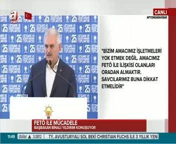 """Başbakan Yıldırım """"Bağdat Hükümeti yanlış yapıyor"""""""