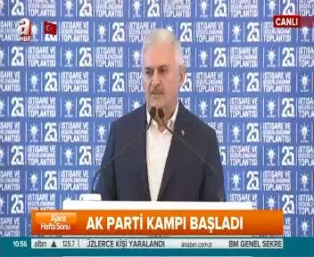 Başbakan Yıldırım AK Parti 25. İstişare ve Değerlendirme Toplantısı'nda konuştu