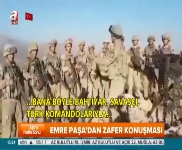 Generaller PKK operasyonuna katıldı!