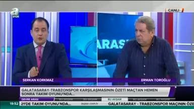 Erman Toroğlu gol pozisyonunu yorumladı