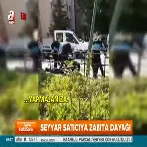 Kadıköy'de zabıtalar seyyar satıcıyı dövdü