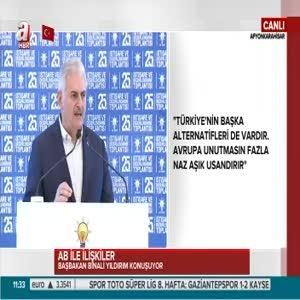 """Başbakan Yıldırım """"Terörle mücadele sonuna kadar devam edecek"""""""