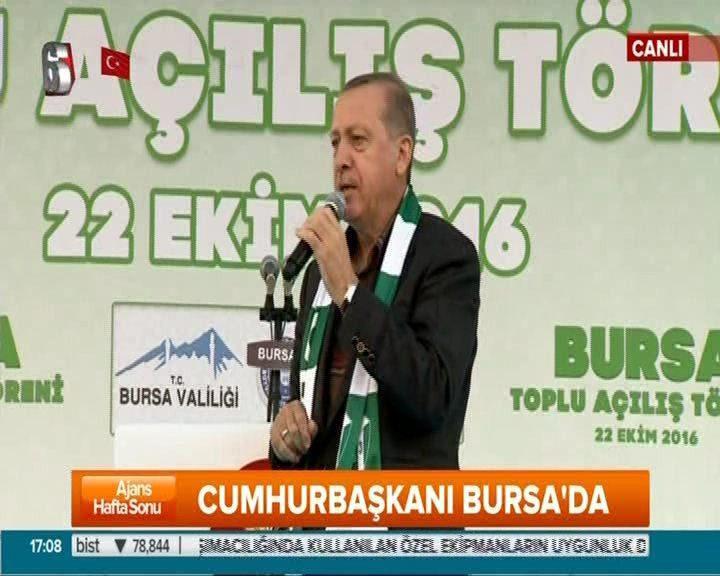 """Cumhurbaşkanı Erdoğan """"Bu devletin sınırlarını gönülden kabul etmiş değiliz"""""""