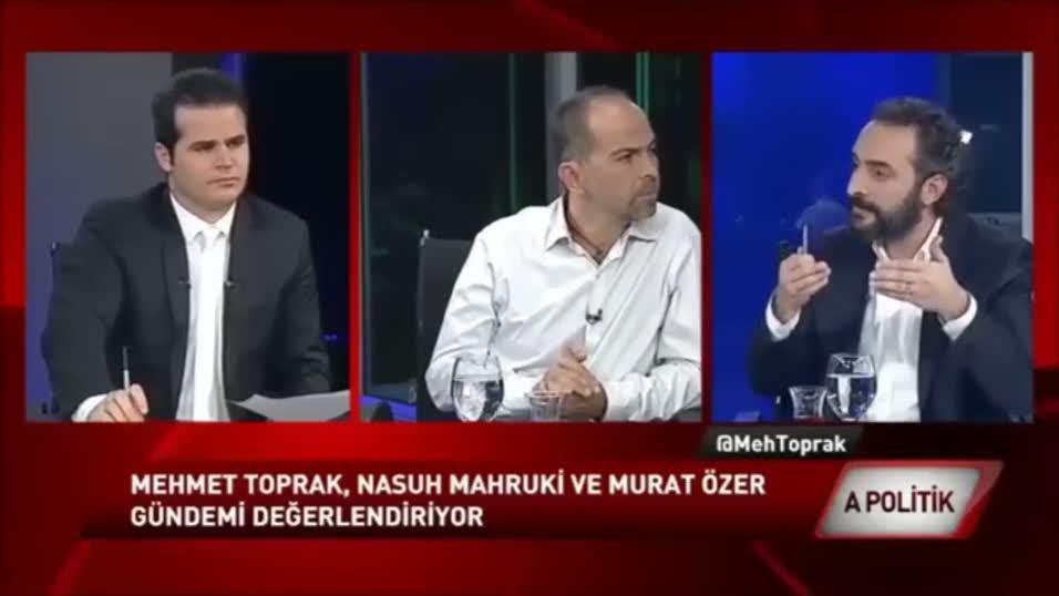 Nasuh Mahruki Cumhurbaşkanı Erdoğan'ı böyle tehdit etti!