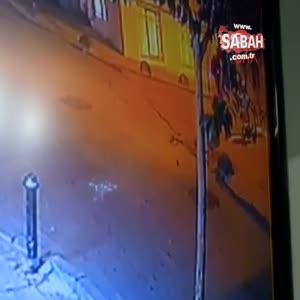 Valiz hırsızlığı kameraya yansıdı