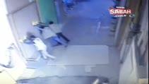 Pakistanlı işçinin ölümü güvenlik kamerasında...