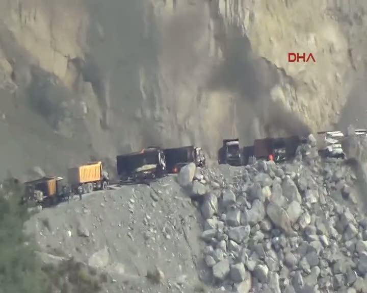 Dörtyol'da PKK'lı teröristler taş ocağına saldırdı, çatışma çıktı