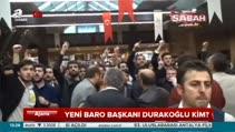 Yeni Baro başkanı Durakoğlu kim?