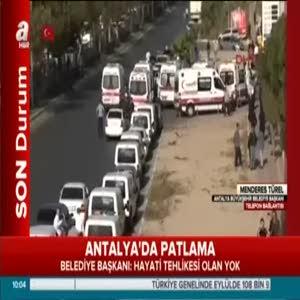"""Antalya Büyükşehir Belediye Başkanı Menderes Türel """"Terör eylemi olmayabilir"""""""