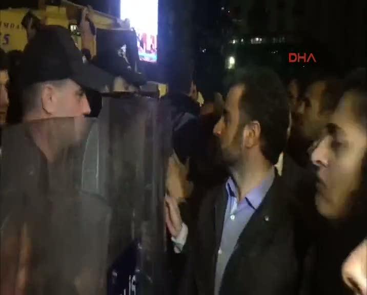 Sebahat Tuncel'den polislere tehdit!