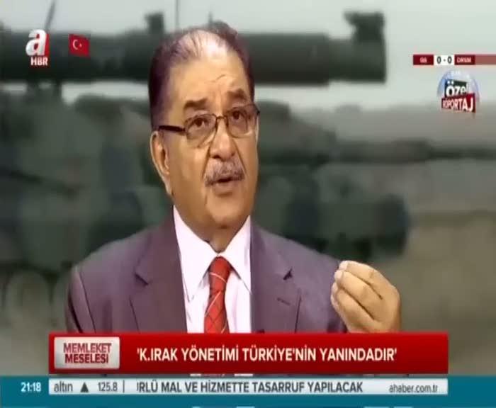 """""""Tüm terör örgütlerine karşı Kuzey Irak Türkiye'nin yanındadır"""""""