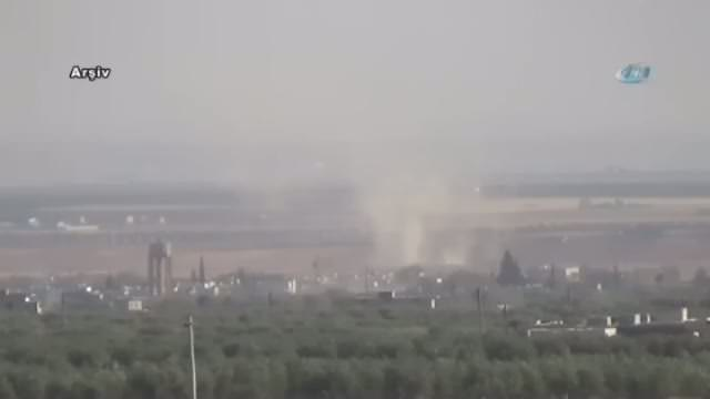 Suriye'de varil bombası saldırısı
