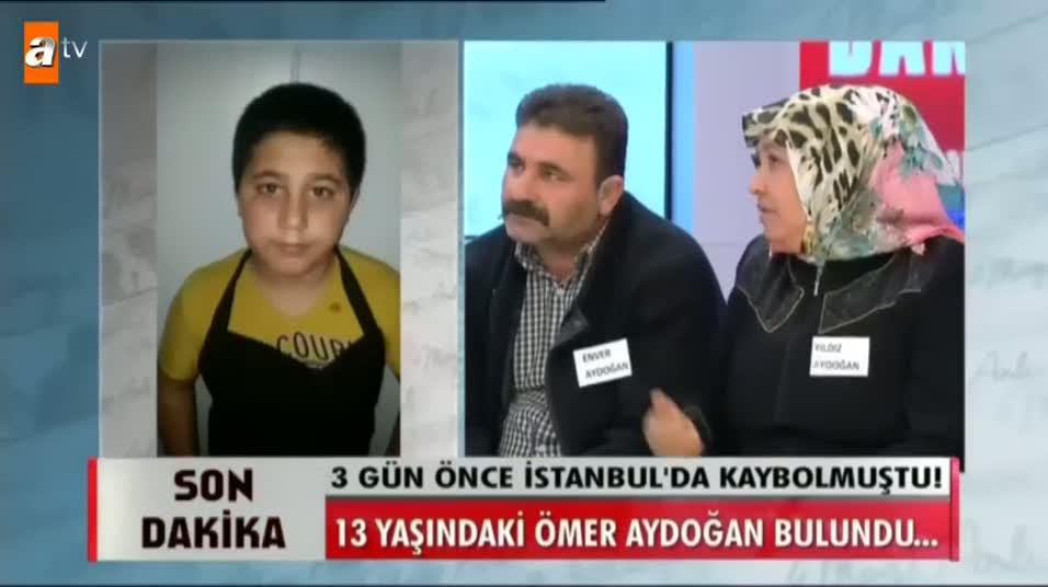 Müge Anlı 13 yaşındaki Ömer'i de bulundu!