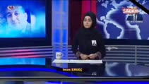 Türkmen spiker gözyaşlarını tutamadı