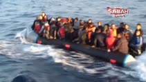 Mültecilerin arasına karışıp Yunanistan'a kaçmak isterken böyle yakalandılar