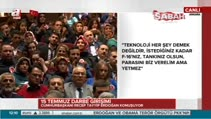 """""""Aramıza nifak sokanlara hep birlikte Türkiye'yiz diyeceğiz"""""""