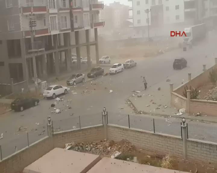 Mardin'de toz fırtınası hayatı olumsuz etkiliyor