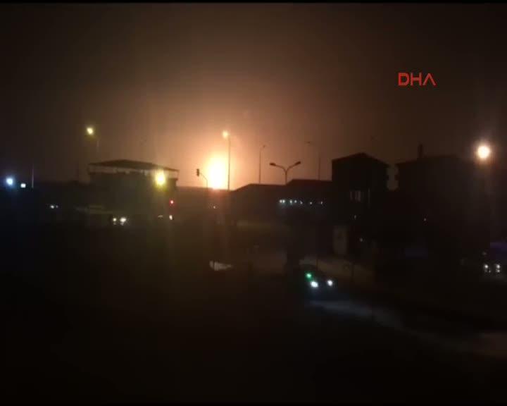 Doğubayazıt'ta doğalgaz boru hattında patlama