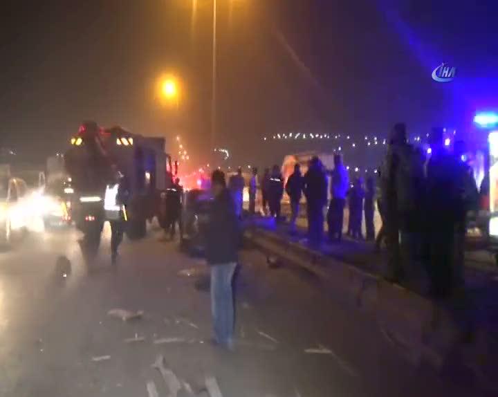Gaziantep'te feci kaza: 1 ölü, 2 yaralı