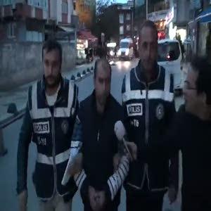 Otobüste hemşireye tekme atan saldırgan yeninden gözaltında