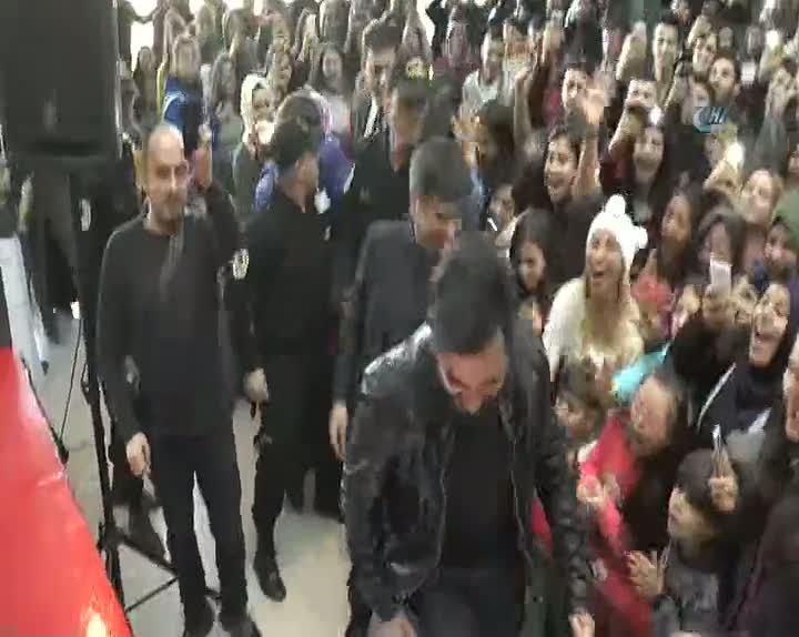 Kapadokya'da Yusuf Güney izdihamı
