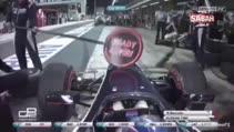 Yarış pilotuna rakip garajdan tekerlek sürprizi