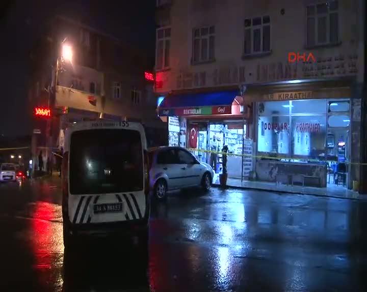 Sultanbeyli'de kahvehaneye silahlı saldırı; 4 yaralı
