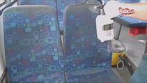 Otobüs koltuklarının nasıl temizlendiğini hiç merak ettiniz mi?