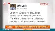 CNN Türk ekonomistinden 'skandal'