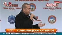 Cumhurbaşkanı Erdoğan'dan dolar çağrısı