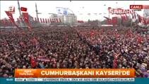 Erdoğan: 14 yıl önce burada ilk mitingimizi yapıp yola çıktık