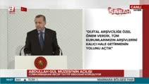 Erdoğan: Milli iradeye darbe vuranlara karşı cevabımızı Abdullah Gül ile verdik