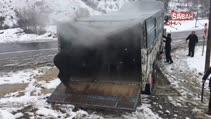 Bir kamyon dolusu angus kaçtı!