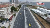Açılışına 15 gün kala Avrasya Tüneli ve sahil yolu havadan görüntülendi