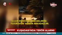Kuşadası'nda 5 teröristin yakalanma anı kamerada